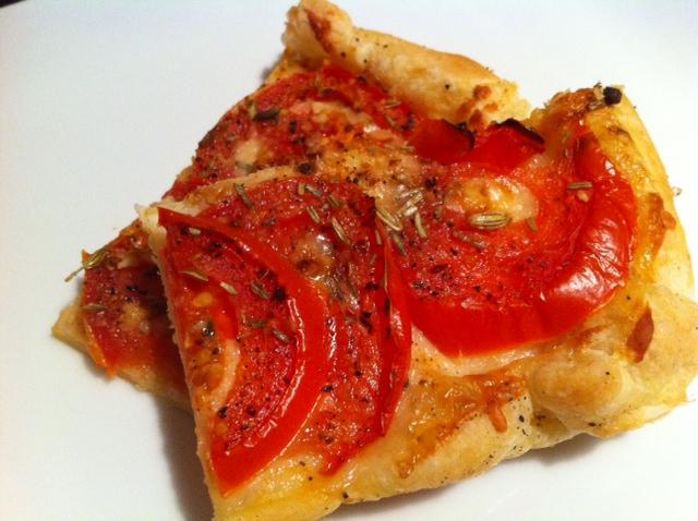 Easy Tomato Tart | Cecile's Cuisine
